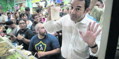 """Jimmy Morales: ¿Corrupción? No me preocupa, soy honrado"""""""