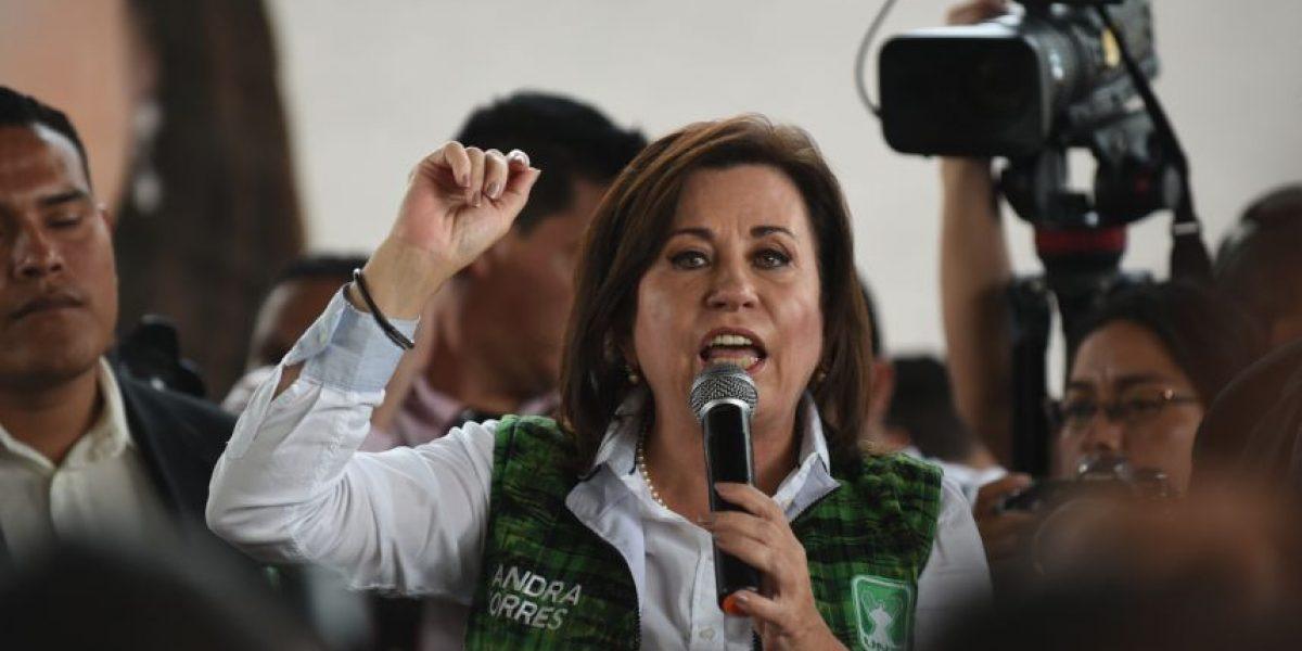 """Sandra Torres: """"Los pobres son los que me van a hacer presidenta"""""""