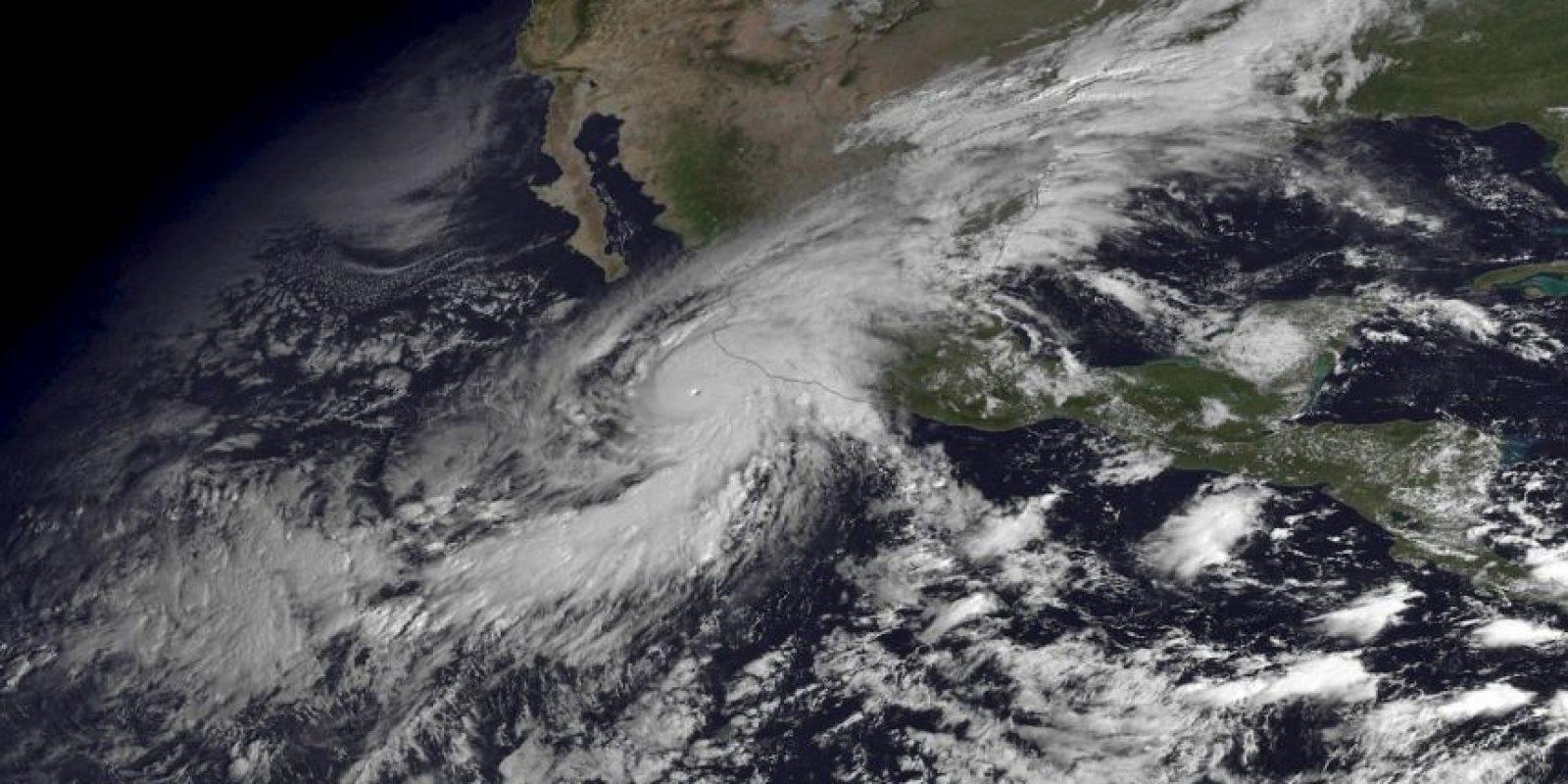 """""""Patricia"""" desde el espacio Foto:AP"""