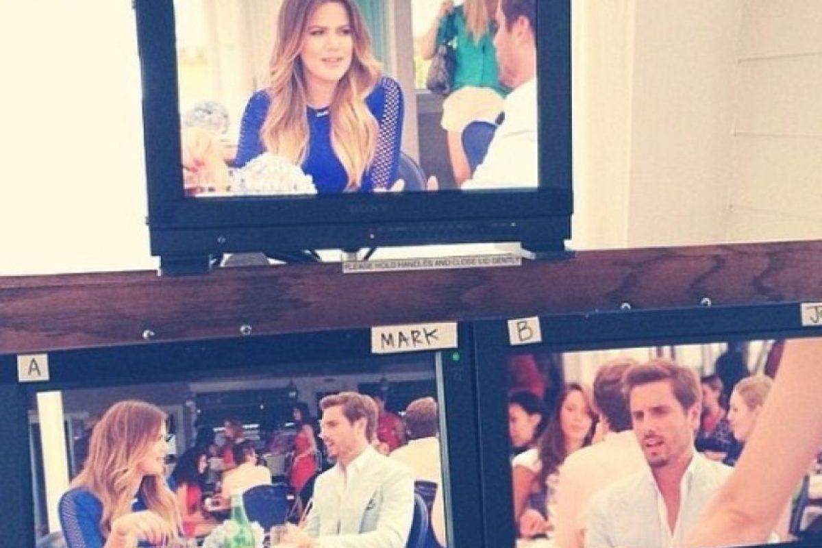 """Khloé Kardashian y su excuñado, Scott Disick, también tuvieron su minuto de fama en la serie """"Royal Pains"""". Foto:vía instagram.com/khloekardashian"""