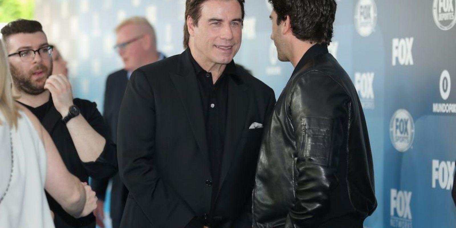 John Travolta le da vida al abogado Robert Shapiro. Foto:Getty Images