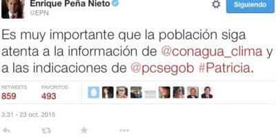 """Así podrán seguir la llegada a México de """"Patricia"""", el huracán más peligroso del mundo"""