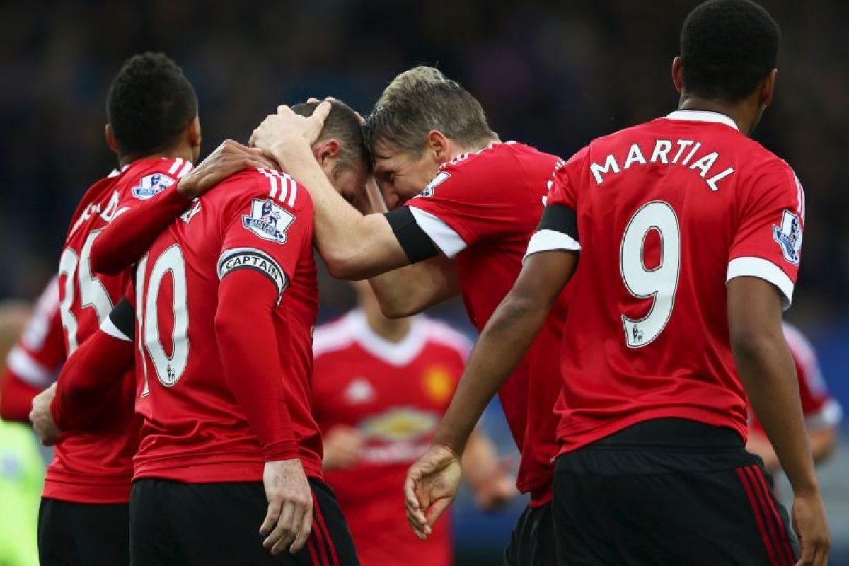 PREMIER LEAGUE: Manchester United (3) vs. Manchester City (1) en Old Trafford Foto:Getty Images