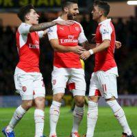 PREMIER LEAGUE: Arsenal (2) vs. Everton (9) en Emirates Stadium Foto:Getty Images