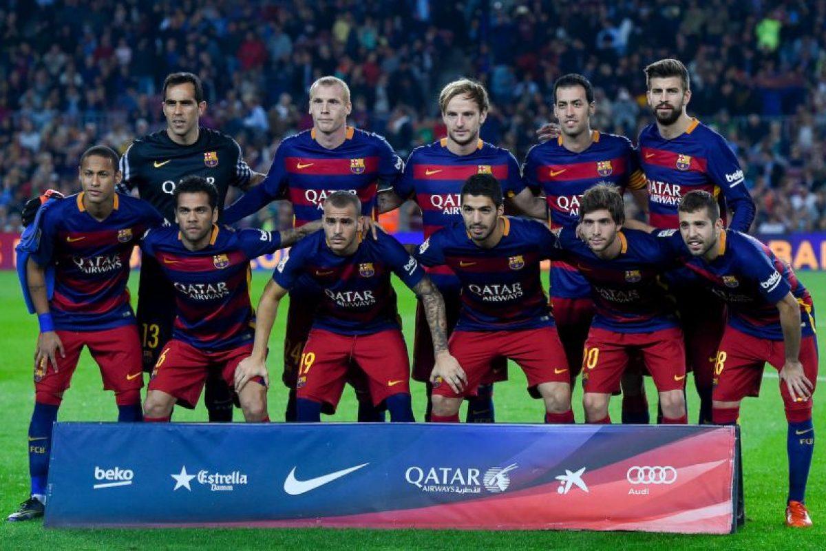 LIGA BBVA: Barcelona (3) vs. Eibar (5) en el Camp Nou Foto:Getty Images