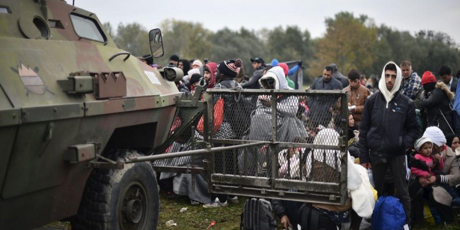 """Uno de los territorios de donde salieron más migrantes fue Siria, país inmerso en la guerra que el presidente Bashar al-Assad y las fuerzas rebeldes a su gobierno protagonizan, y en el que el grupo yihadista """"Estado Islámico"""" tiene mayor presencia. Foto:Getty Images"""