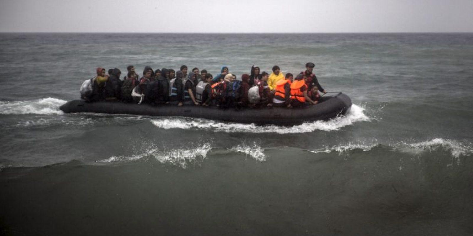 2015 trajo consigo una de las peores crisis de migración que Europa y el mundo hayan visto recientemente. Foto:AP