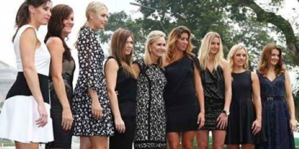 Las mejores tenistas del mundo lucen vestidos de gala