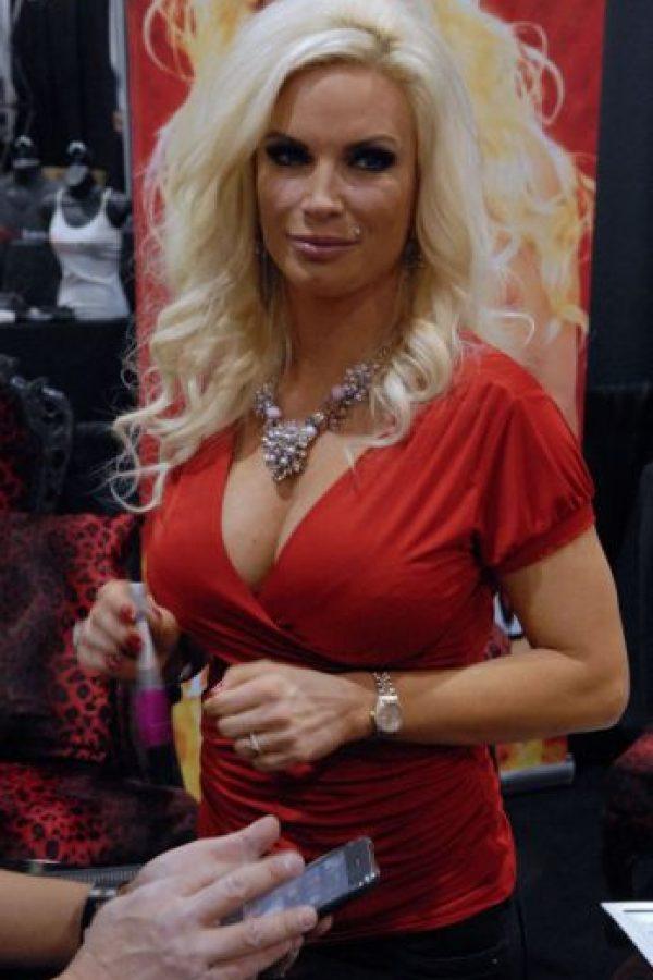 """Diamond Foxx es una actriz porno que siempre tiene papeles de """"MILF"""". Foto:vía Wikipedia"""