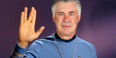 Ancelotti se subirá a la Enterprise en Star Trek