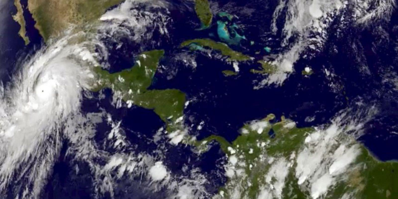 """Se espera que este viernes le huracán """" Patricia"""" llegue toque territorio mexicano. Foto:AP"""