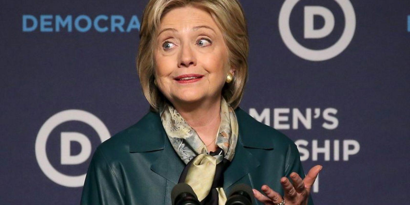 La exprimera dama Hillary Clinton. Foto:AFP
