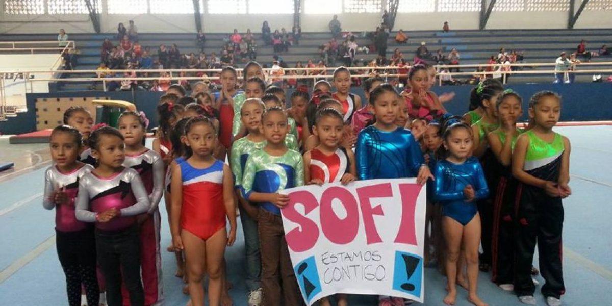 De Guatemala a Escocia, estas pequeñas gimnastas muestran su apoyo a Ana Sofía Gómez