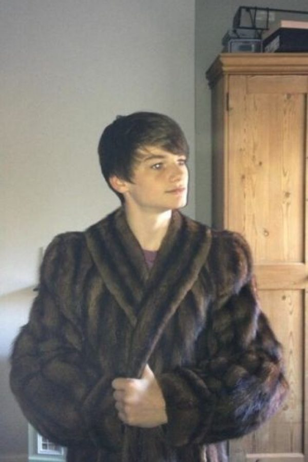 El actor ahora tiene 17 años Foto:vía twitter.com/newbouldhap