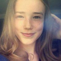 Ahora es una joven de 15 años. Foto:vía instagram.com/DaphneBeistegui