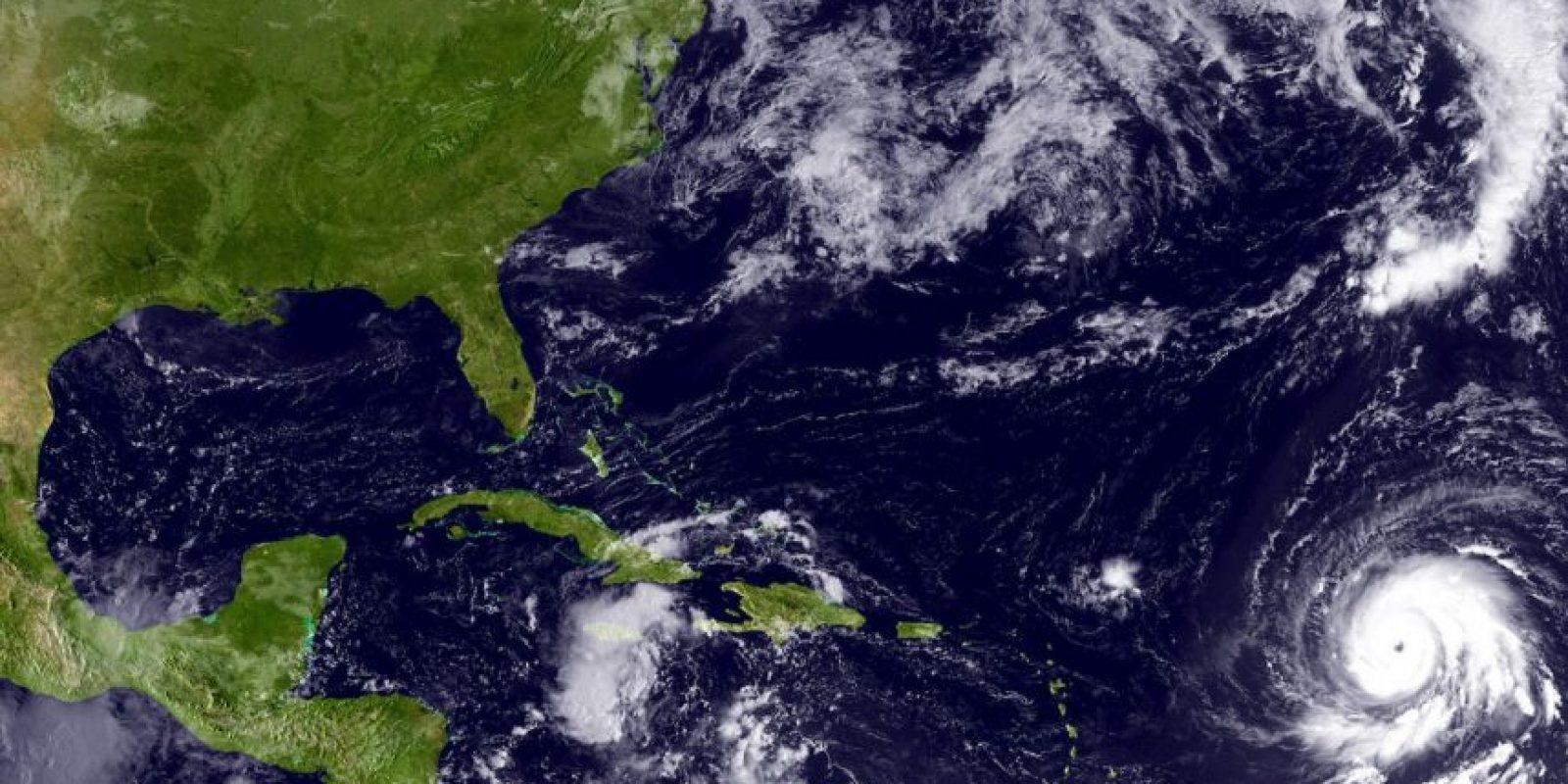 En septiembre de 2010, Igor fue considerado uno de los más grandes huracanes en cuanto a tamaño de su centro con mil 480 kilómetros de diámetro. Foto:Getty Images