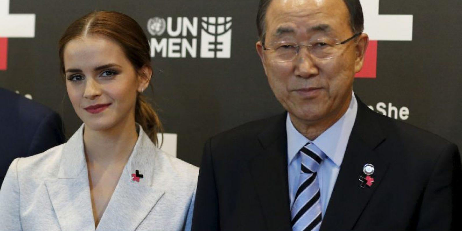 5. Esta ha dado discursos a favor de la igualdad de género. Foto:Getty Images
