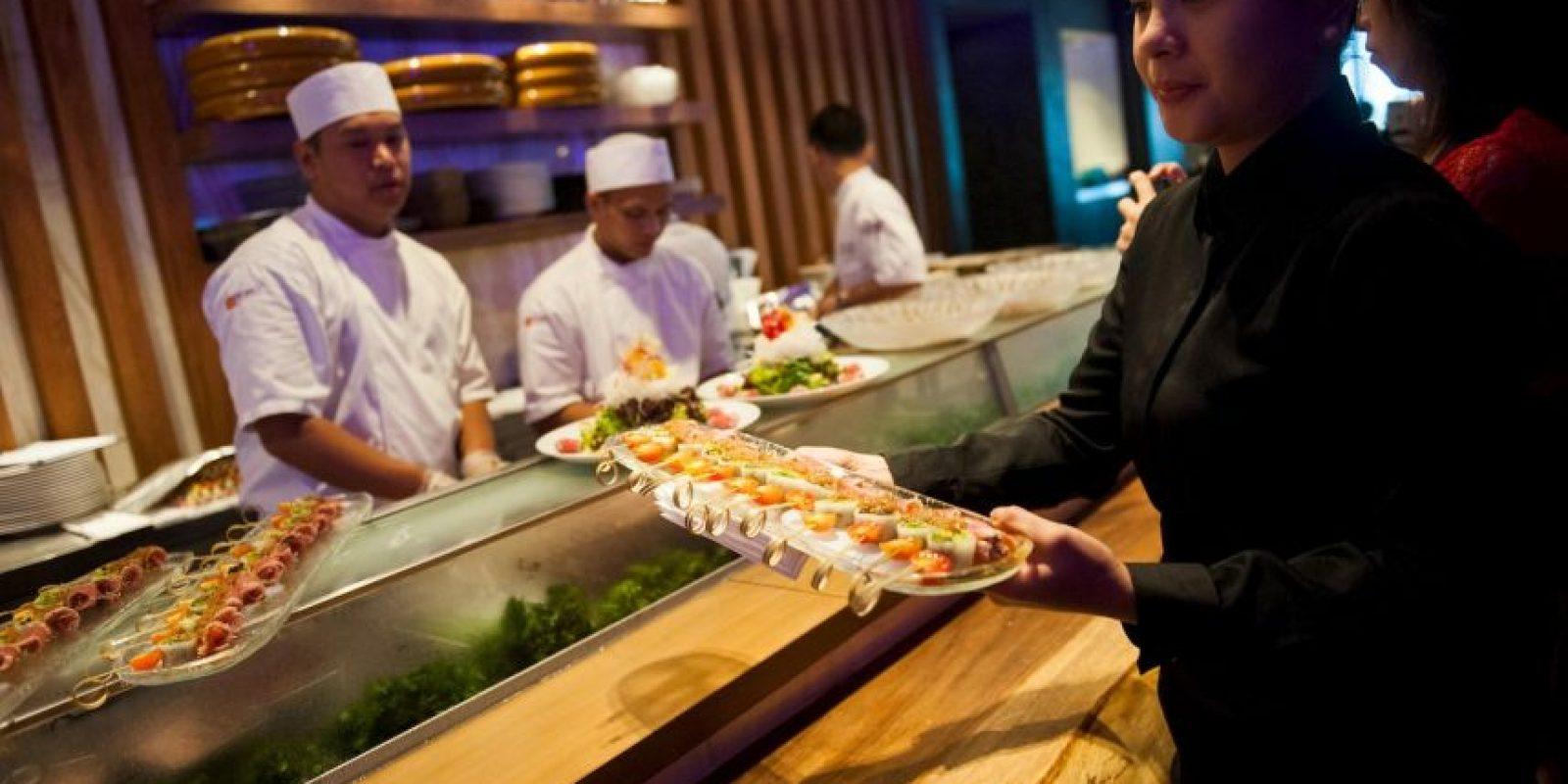 Los restaurantes japoneses crean nuevos platillos para atraer la atención de sus comensales . Foto:Getty Images