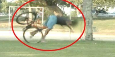Video: Querían robar bicicletas y cometieron
