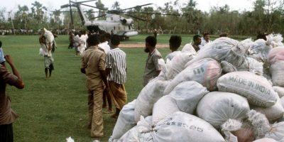 1991, Ciclón de Bangladesh. Otra tragedia en la India se debió a un ciclón categoría 5. Mató a 138 mil personas. Foto:Vía Wikimedia Commons