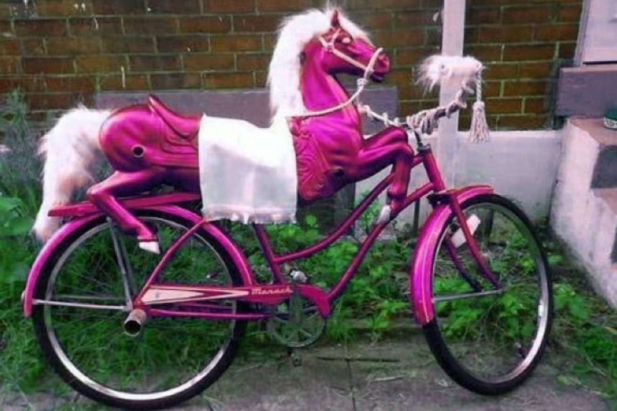 Momentos graciosos en la bici Foto:Reddit