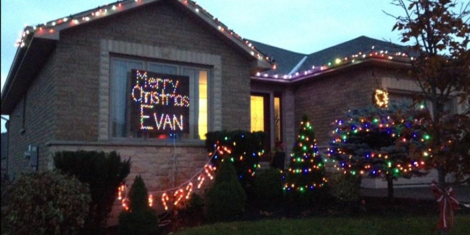 Además de organizar que la Navidad se adelantara para Evan Foto:Vía Twitter @leahjohansen
