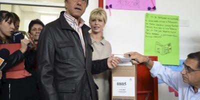"""Pidió a los argentinos """"que vayan a votar con libertad, en búsqueda de un futuro mejor"""". Foto:AFP"""