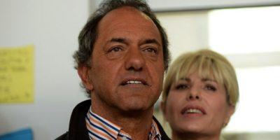 El candidato que encabeza las encuestas es Daniel Scioli; del Frente para la Victoria Foto:AFP