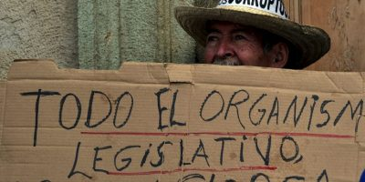 """A quién se le relaciono con un caso de corrupción llamado """"La Línea"""" Foto:AFP"""