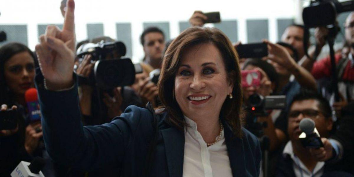 """Sandra Torres: """"Estoy confiada en Dios y en los guatemaltecos para obtener el triunfo"""""""