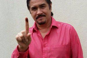 Álvaro Aguilar, vocalista de Alux Nahual Foto:Cortesía