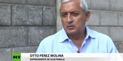"""Otto Pérez: """"El MP, hay que decirlo, ha servido a lo que la CICIG ordena"""""""