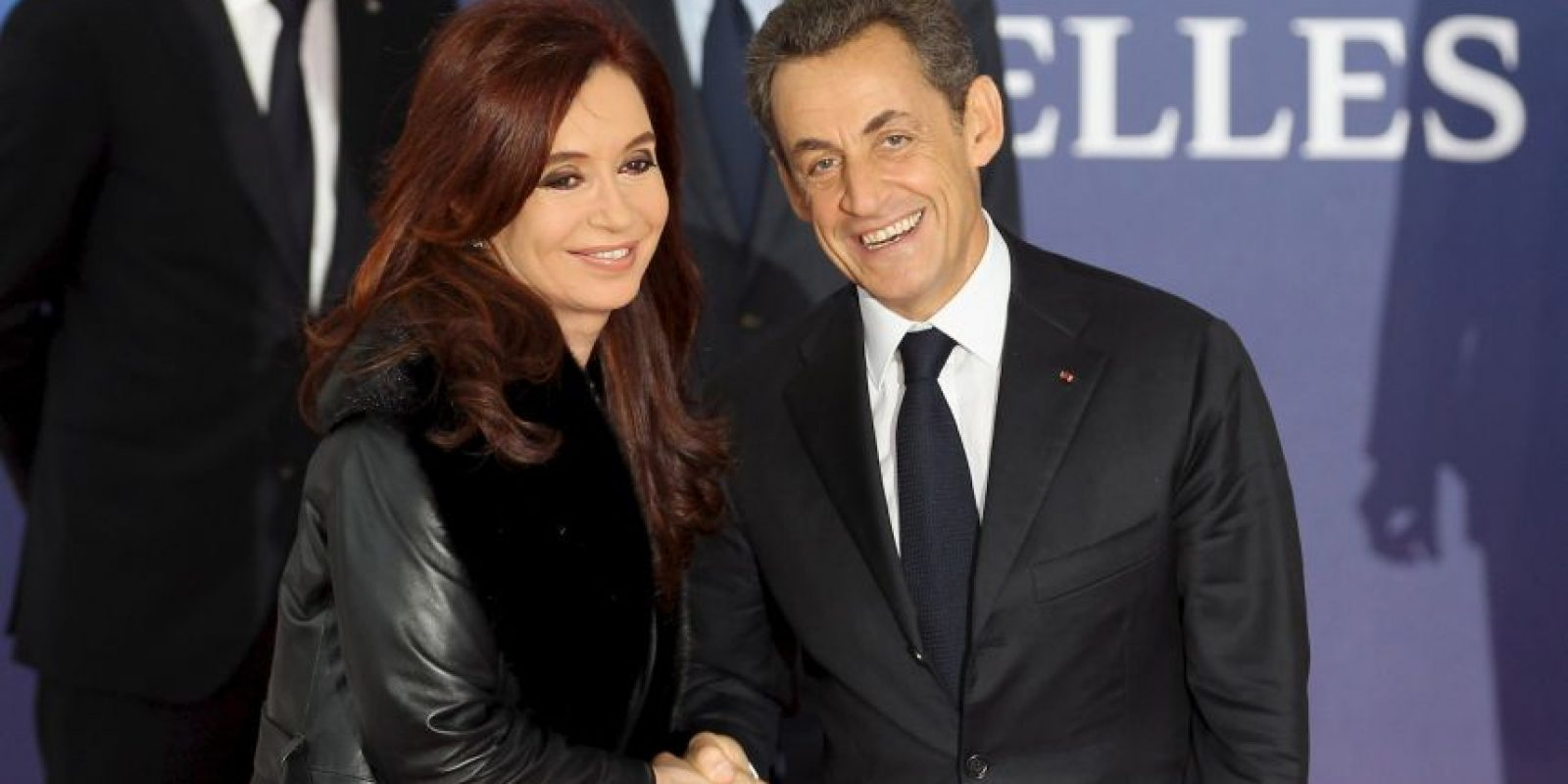 2011 en reunión con el expresidente Nicolás Sarkozy en Francia Foto:Getty Images