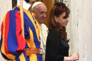 2015, con el Papa Francisco Foto:Getty Images