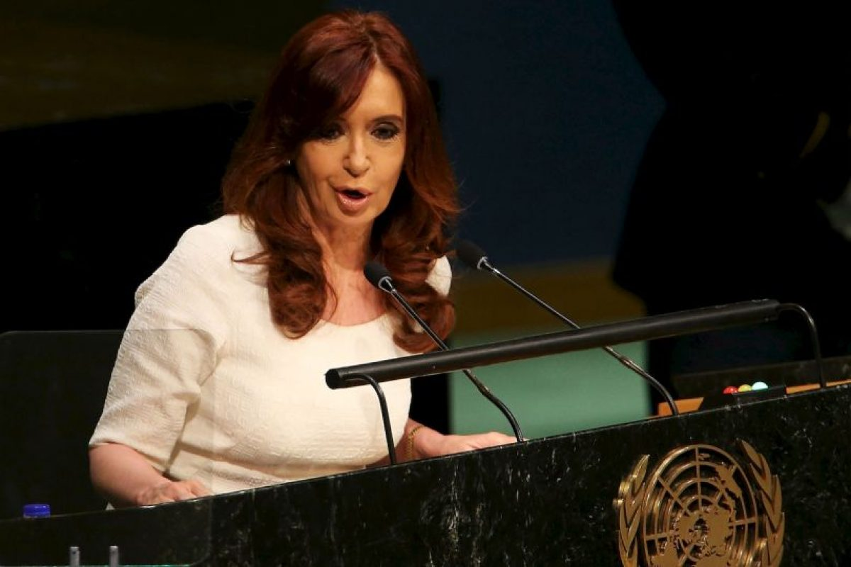 En la Asamblea General de la ONU en 2015 Foto:Getty Images