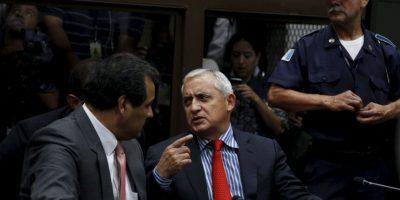 """Esto, después del escándalo de corrupción """"La Línea"""", que llevó al presidente Otto Pérez Molina a la cárcel Foto:AP"""