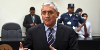 El 2 de septiembre de 2015 renunció a la Presidencia de la República luego de ser desaforado por el Congreso un día antes. Foto:AFP