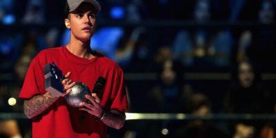 Mejor artista masculino: Justin Bieber Foto:Getty Images