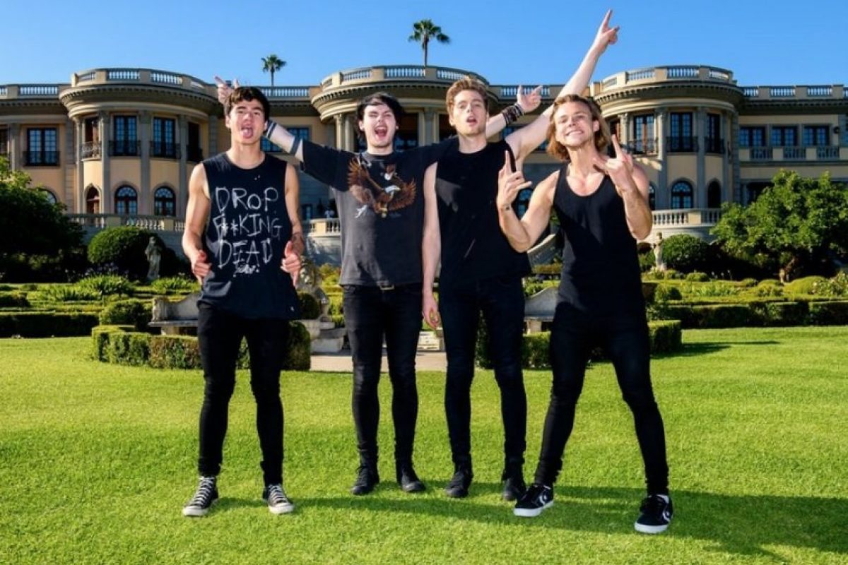 Mejor grupo Australiano: 5 Seconds of Summer Foto: Getty Images