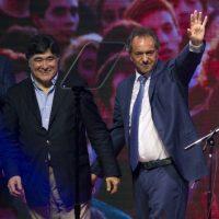 Al final, Scioli y Macri se verán en las urnas el próximo 22 de noviembre Foto:AFP