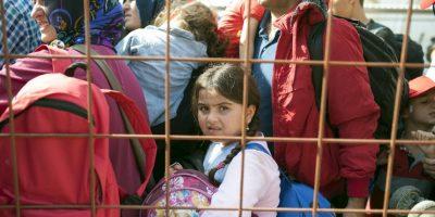 Sin embargo, los niños han resultado ser los más vulnerables en los viajes emprendidos por sus familias. Foto:AFP