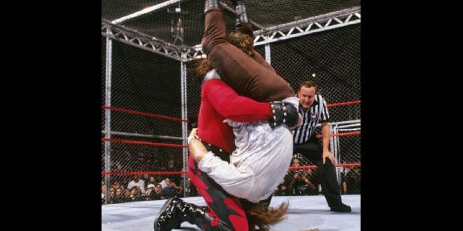Kane vs. Mankind Foto:WWE
