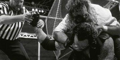 Manckind vs- Undertaker Foto:WWE