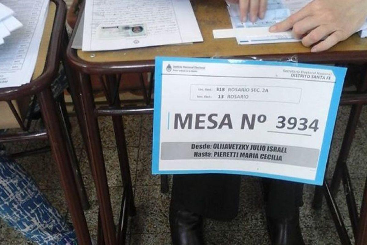 Los detalles no se dejaban a un lado Foto:Vía instagram.com/explore/tags/elecciones2015/