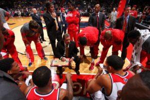 En 2009 se convirtió en el coach de los Wizards de Washington, pero fue despedido en enero de 2012. Foto:Getty Images