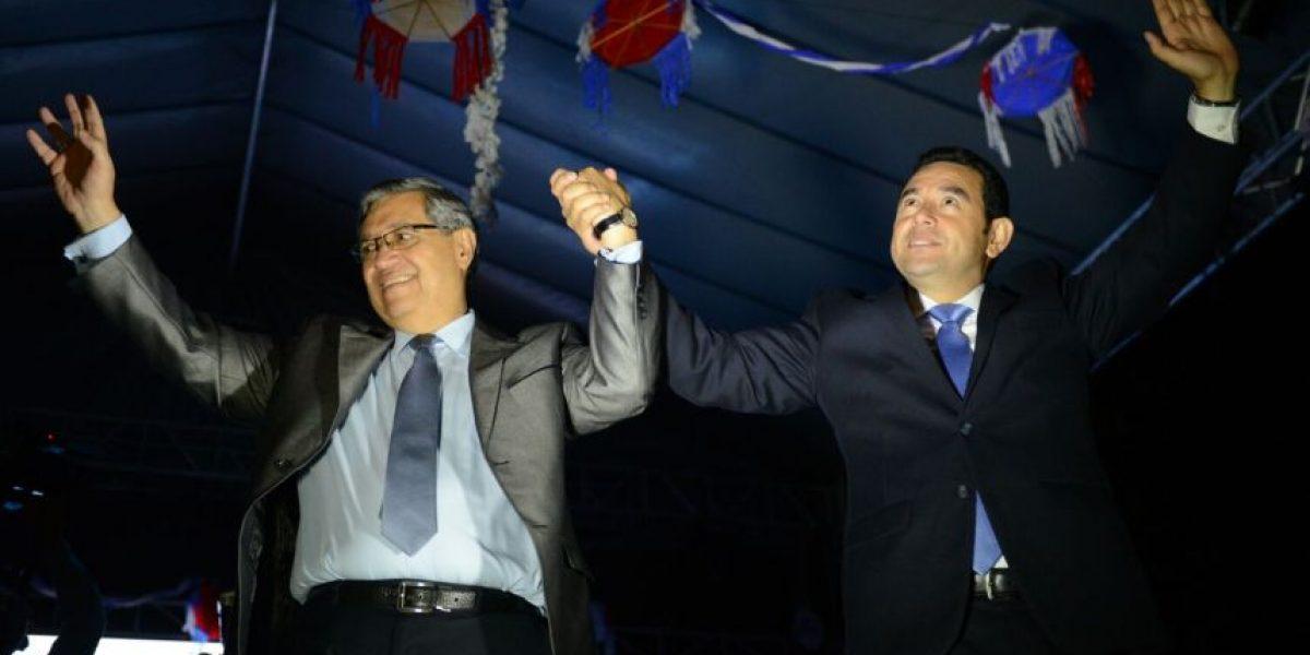 Población elige al excomediante Jimmy Morales como su presidente