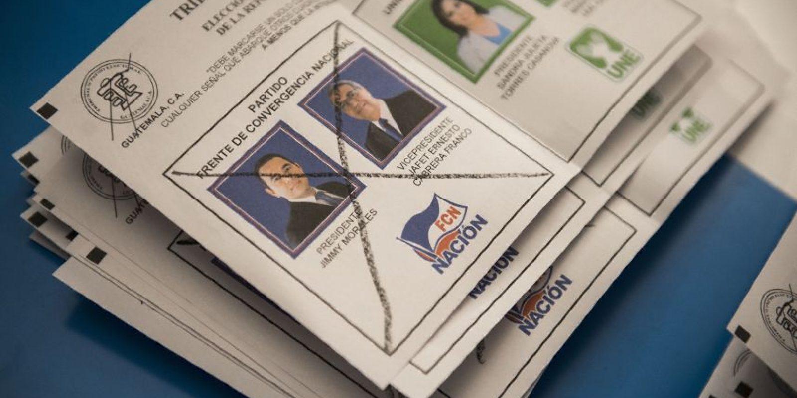 Votos Foto:AP
