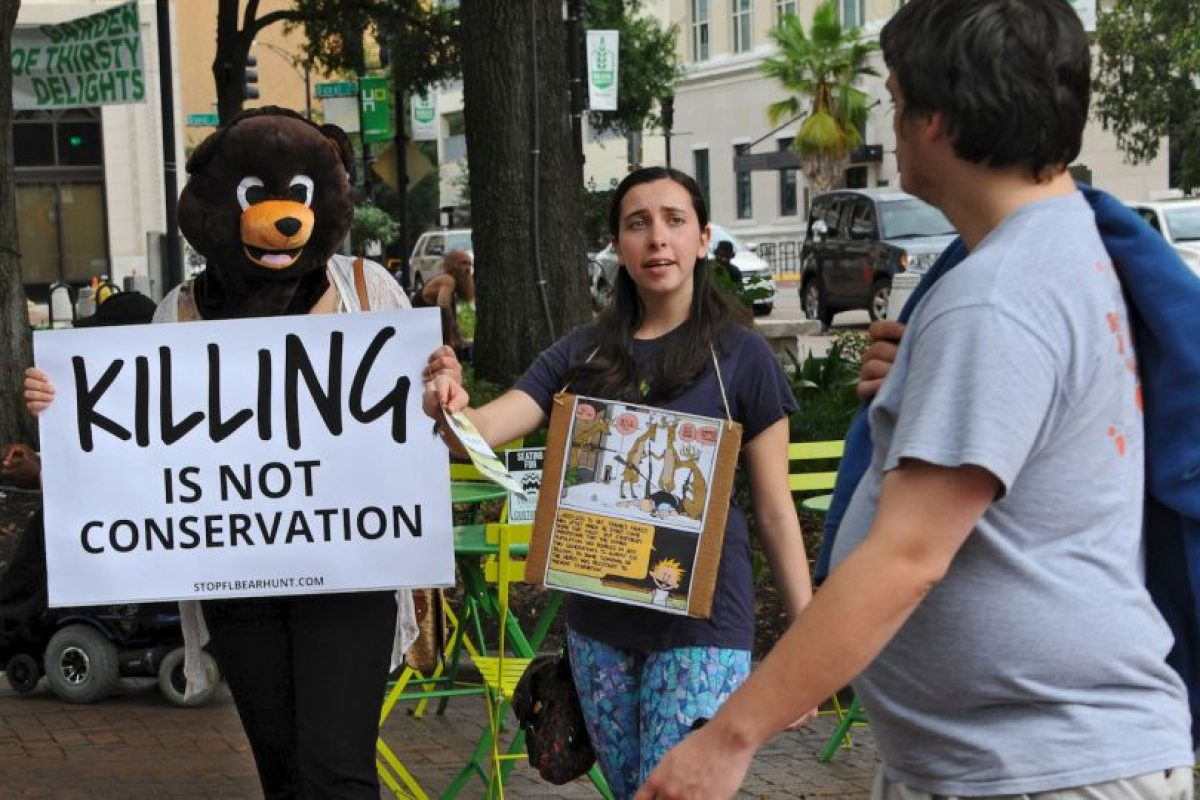 La cacería en Florida estuvo prohibida durante 21 años. Foto:AP