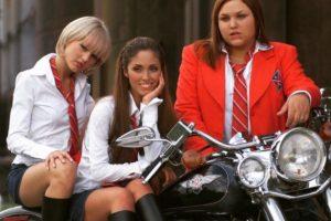 A pesar de que esta telenovela mostraba actrices delgadas, Villarreal conquistó a los fans con su papel de una joven con sobrepeso. Foto:Televisa