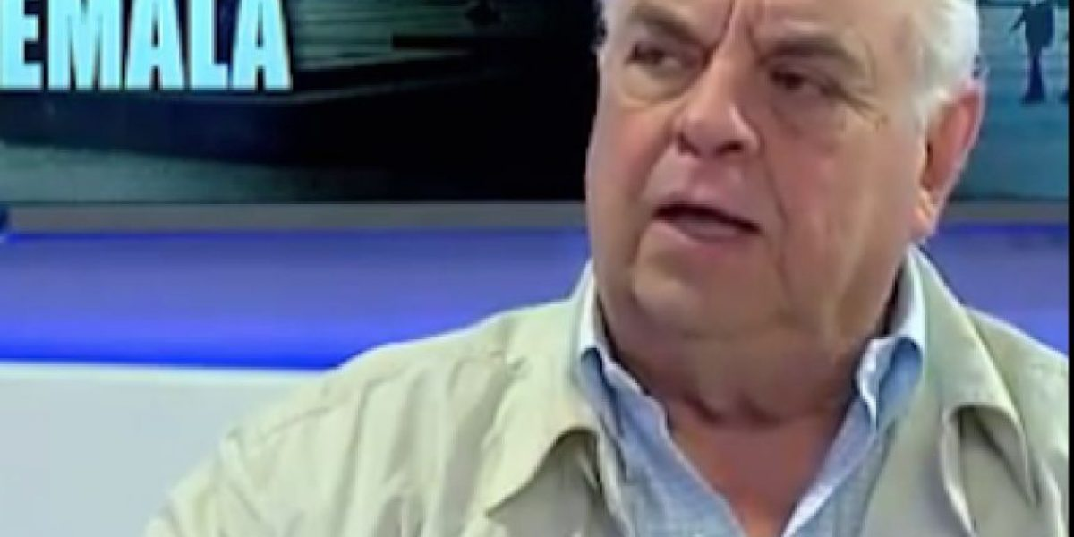 Expresidente Serrano Elías le envía un mensaje a J. Morales